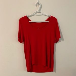 A New Day Basic Red T-Shirt